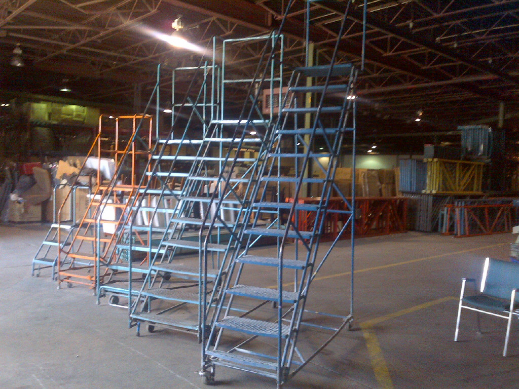 used rolling ladders toronto